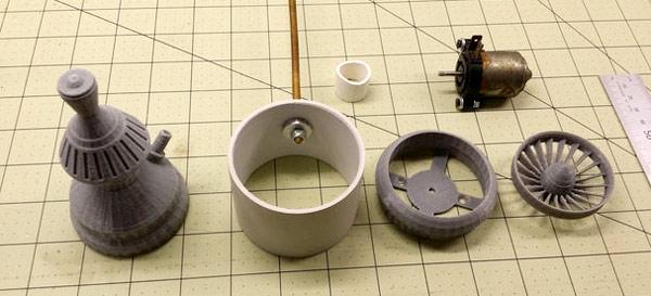 детали для изготовления турбины