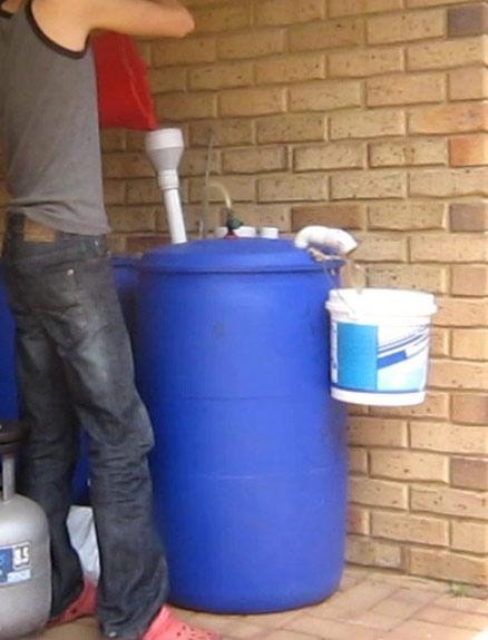самодельная биогазовая установка в домашних условиях