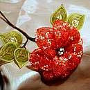 Плетение из бисера цветов