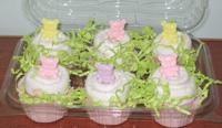 изготовление кексов из подгузников