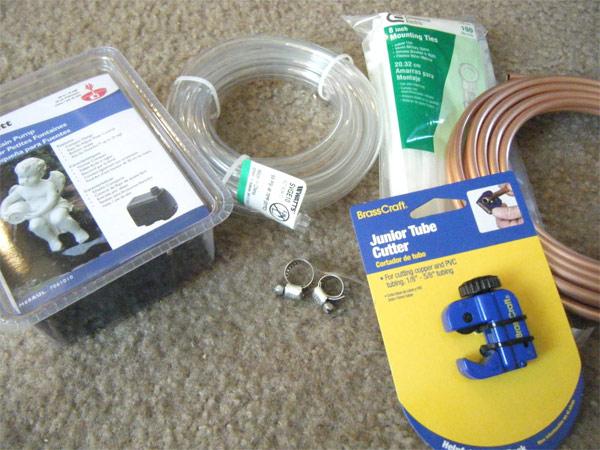 материалы для изготовления кондиционера