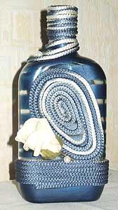 Самодельные декоративные бутылки