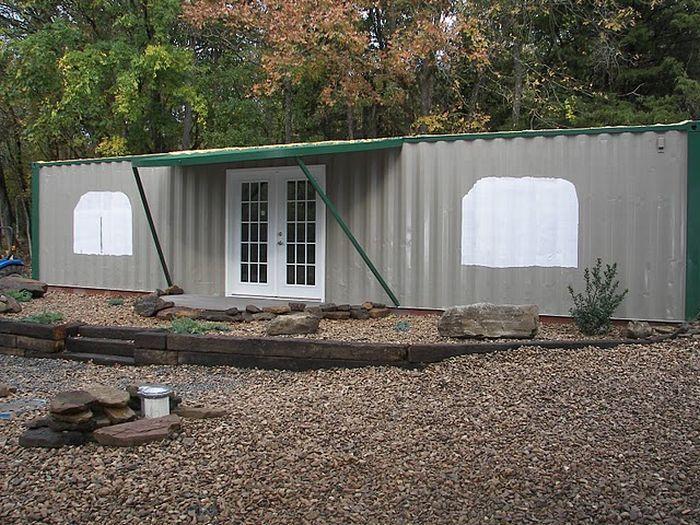 строительство дома из контейнеров своими руками