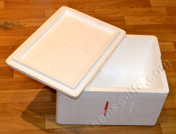 пенопластовый ящик для инкубатора