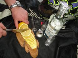 байкерский нож
