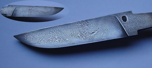 ковка ножа своими руками из дамасской стали