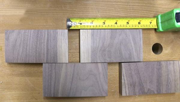 изготовление деревянного коврика