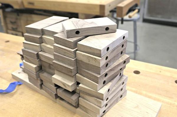 плашки для изготовления деревянного коврика