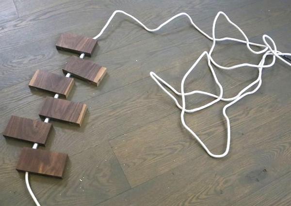 изготовление деревянного коврика своими руками