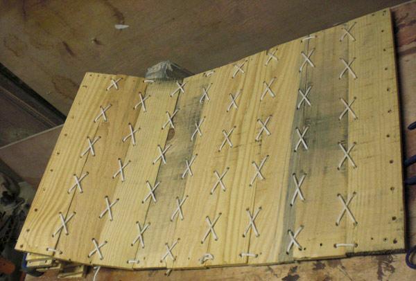 изготовление кресла гамака