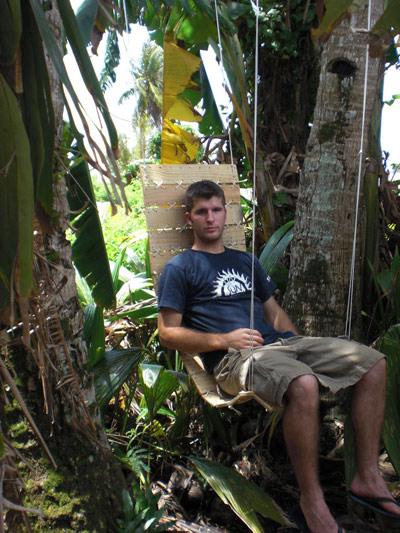 самодельное кресло гамак