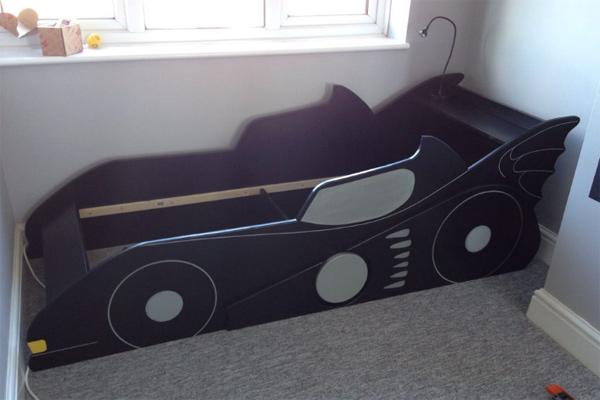 как сделать детскую кровать машину