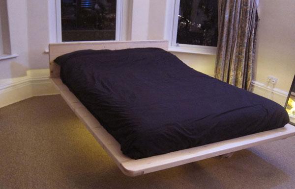 как сделать современную кровать своими руками