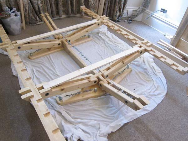 каркас современной кровати