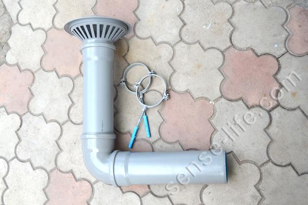 вытяжка из канализационных труб
