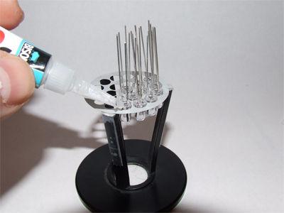 изготовление светодиодной лампы