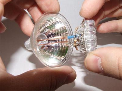 как сделать лампу из светодиодов