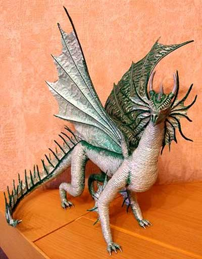 мастеркласс изготовление дракона