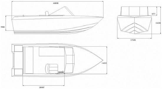 Чертежи моторной лодки
