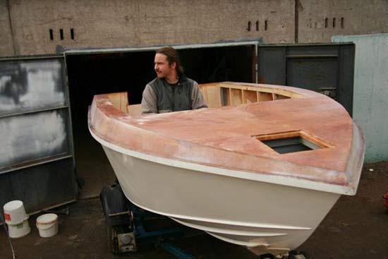 самодельная моторная лодка