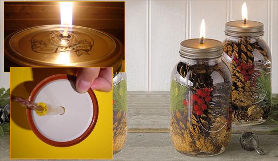 новогодняя свеча своими руками
