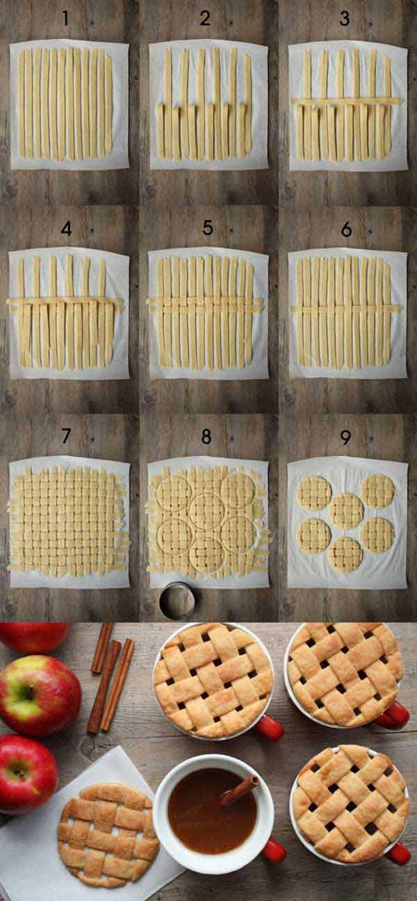 Плетеное печенье
