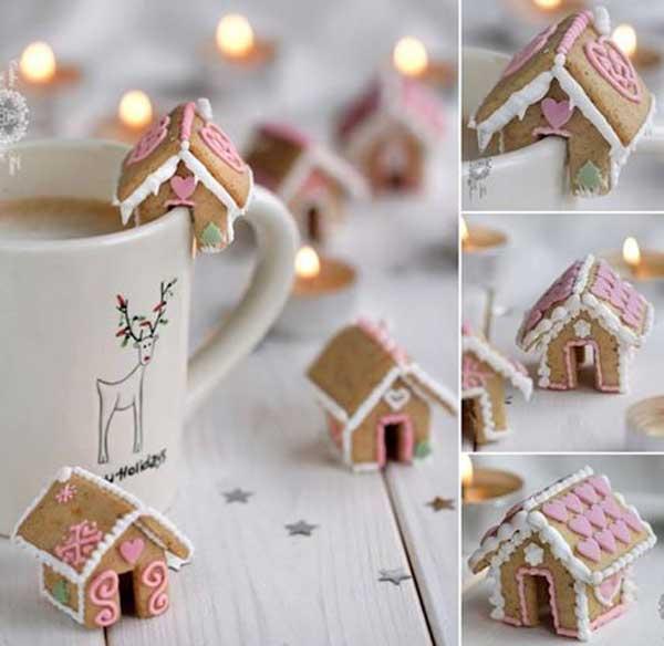 Печенье домик