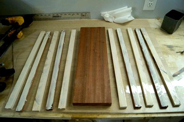изготовление декоративной разделочной доски своими руками