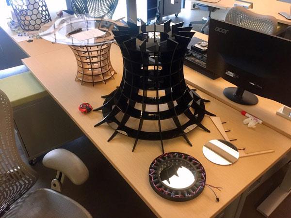 самодельный журнальный стол оригинальной конструкции