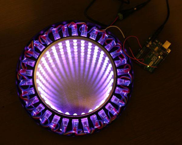 светодиодная подсветка - черная дыра