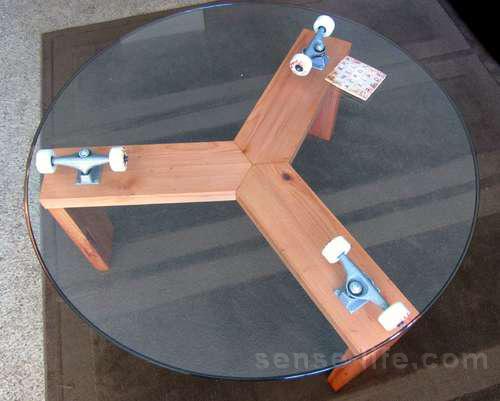 как сделать стеклянный стол своими руками