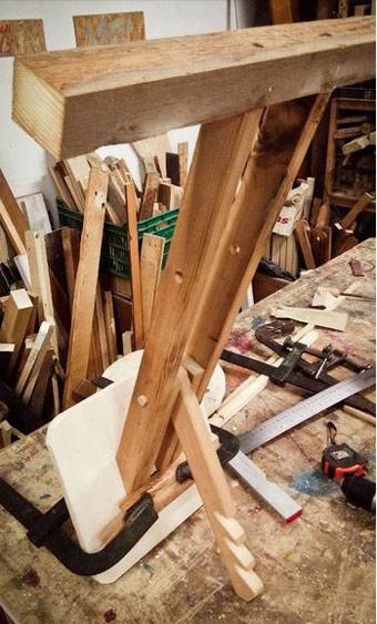 изготовление ортопедического коленного стула