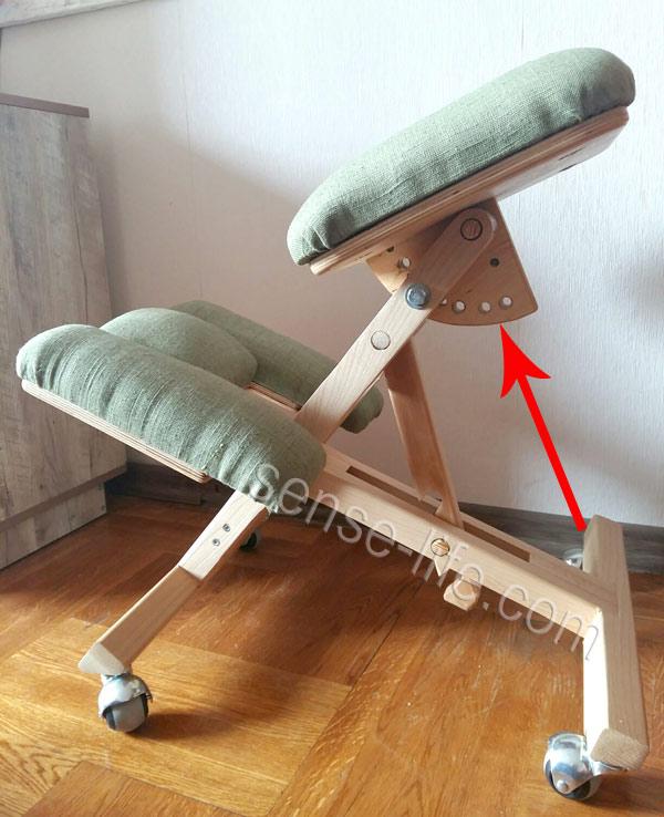Коленный ортопедический стул сделать 78