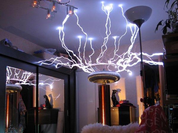 Самодельный трансформатор Тесла