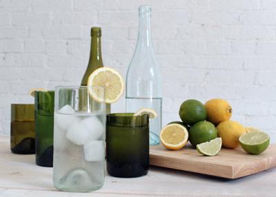 чашка из бутылки