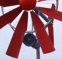 ветрогенератор из велосипедного колеса
